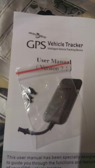 Guaranteed 100% 4 band car GPS tracker GT02A Google link real time tracking free shipping