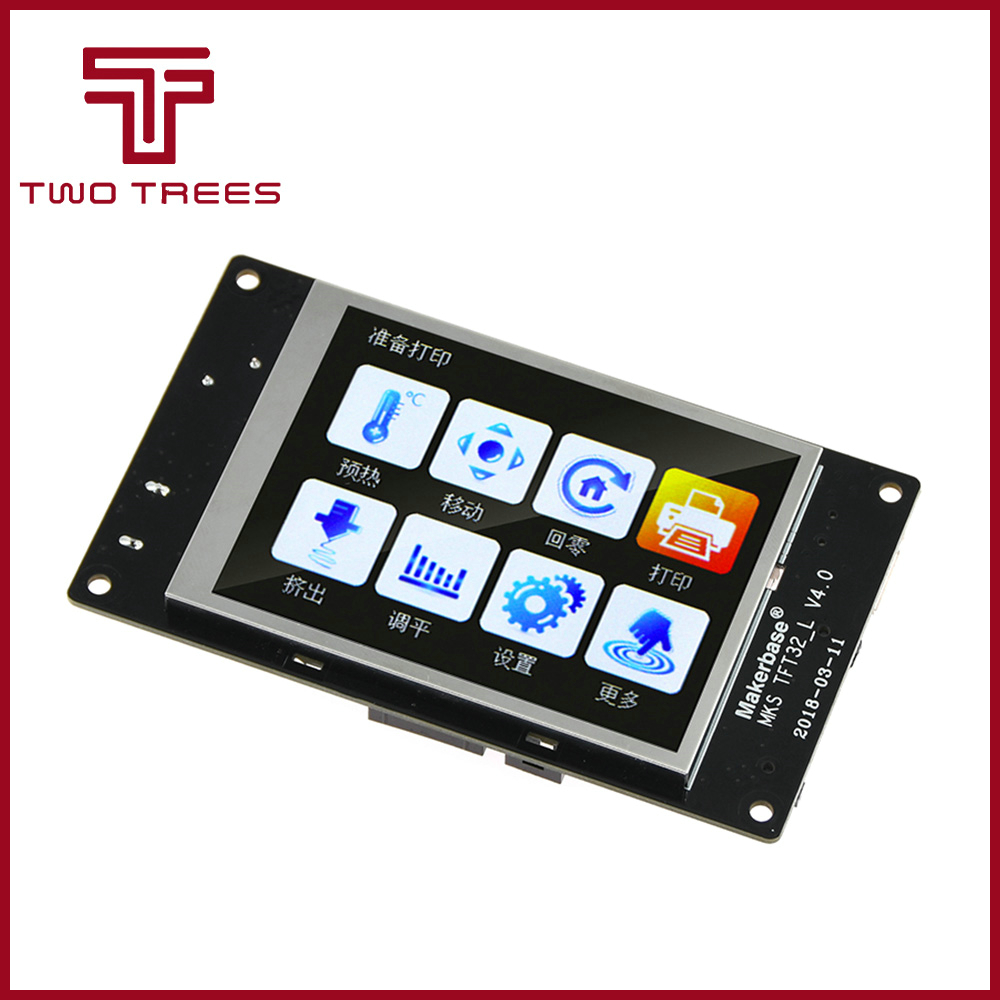 Tft-Monitor Touch-Screen MKS Extended Tft3.2-Display Reprap Slot-Module V4.0 title=