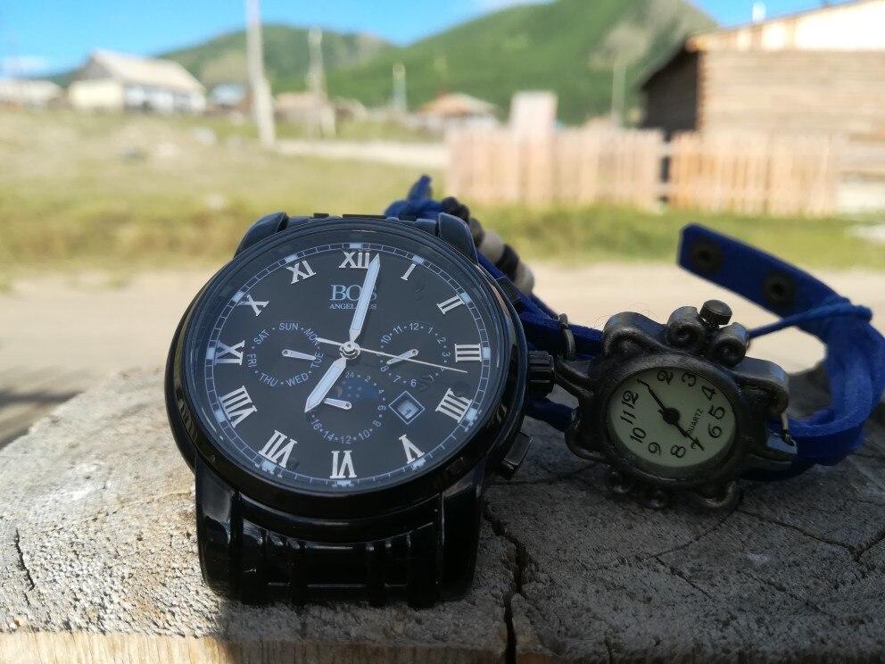 86d6cfe05180 Часы хорошие, приятные. Посылка пришла быстро за 3 недели до Горного-Алтая,  вместе с ним подарок женские часы. В общем все довольны.
