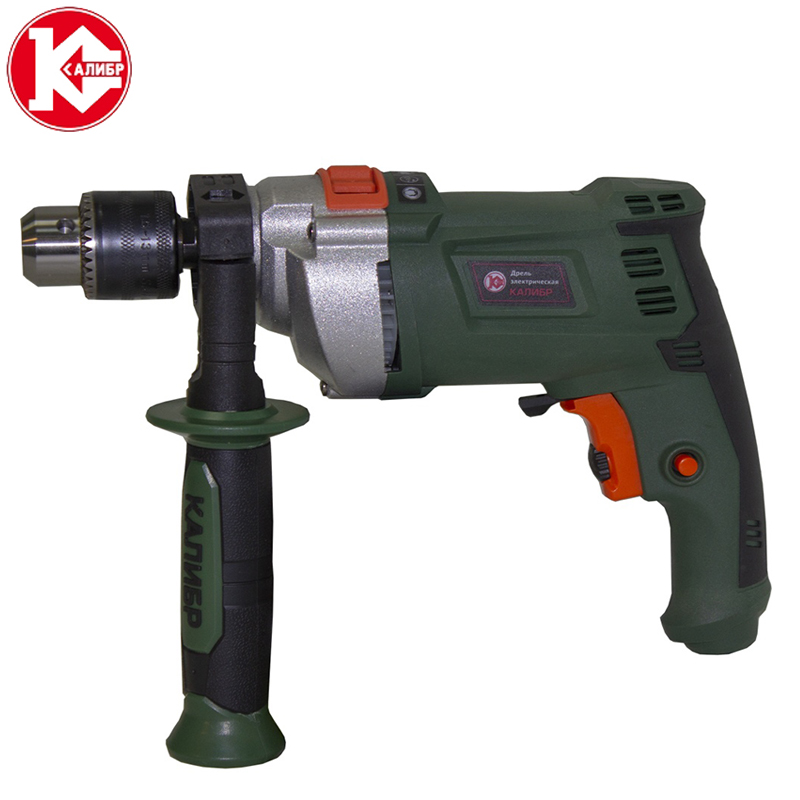 Kalibr DEMR-650ERU Electric Hammer Electric Functions Household Impact Drill Multi-function Household Electric Tool Set impact and punch down tool used on 110 type 5pairs insert tool network tool ls 315dr