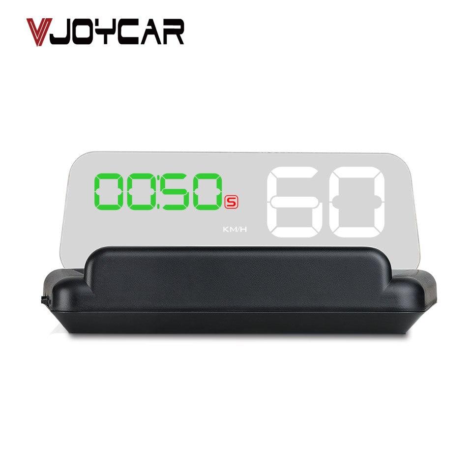 VJOYCAR T900 HUD Affichage Tête haute Voiture Compteur De Vitesse GPS Pare-Brise Projecteur Avec Panneau de Réflexion C500 OBD2 Jauge Outil de Diagnostic