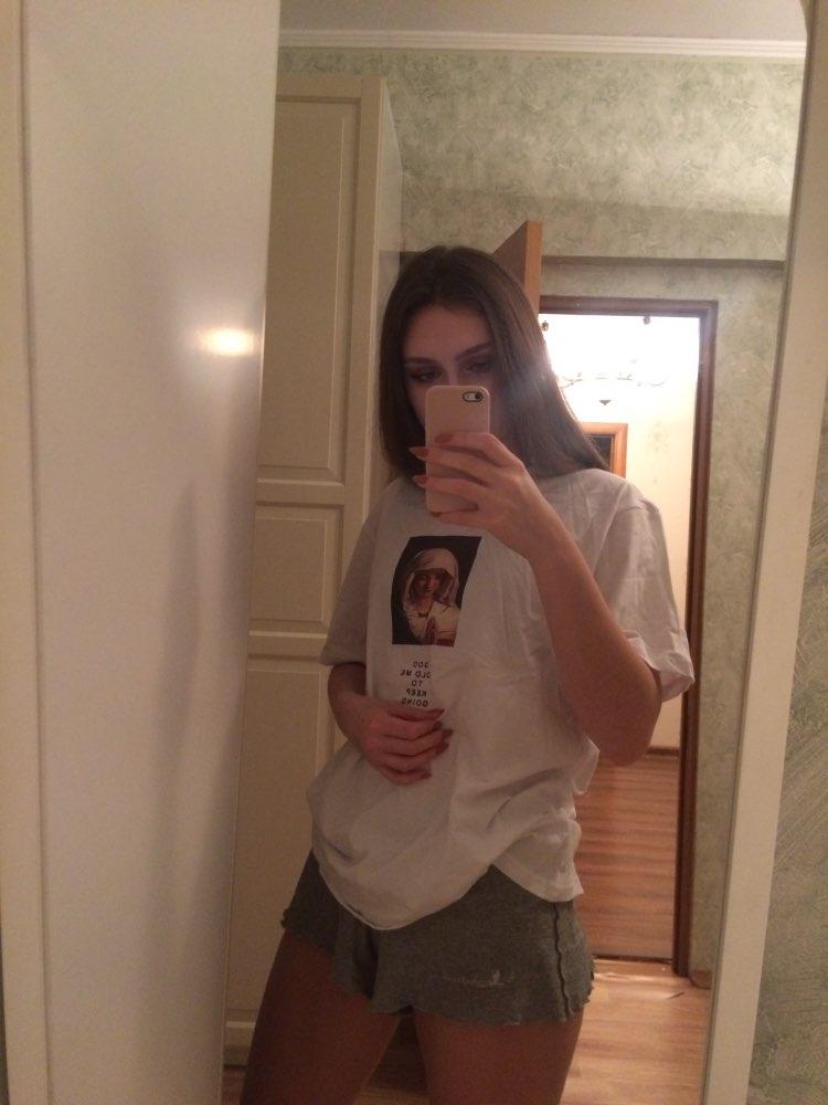 GONTHWID 2018 Men's Virgin Mary Printed Short Sleeve T Shirts Summer Casual Cotton Hip Hopo Tops Tees Fashion Streetwear Tshirts