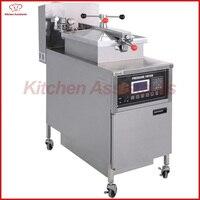 KA E600L Electric Computer Control Digital LCD Pressure Fryer With Oil Pump