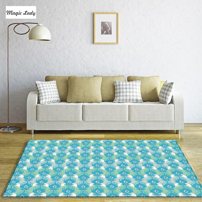 Carpet Accessoires Living Room Bedroom Modern Pattern