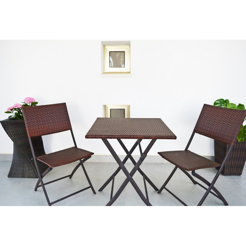 KieferGarden. Folding Table. Delivery From Spain. Tables And Chairs Of Garden. Outdoor Furniture Rattan Tables. Table. Mesa