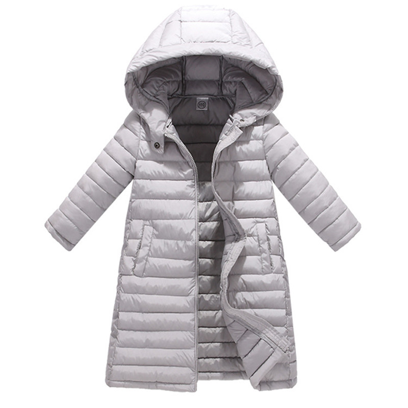 Children's Boys Girls Winter Jackets Baby Long Cotton Down Padded Coat Kids Parka Warm Hooded Outerwears Snow Wear 3-12Y T91 new thicking 2017 winter jacket coat women down parka coat plus size long warm coat snow wear cotton padded lady loose coat