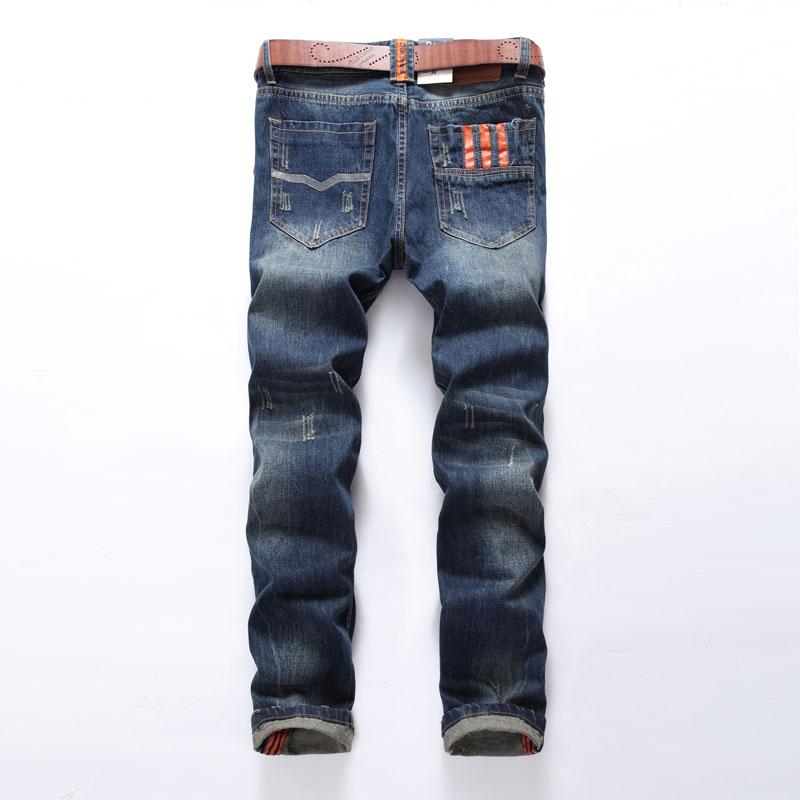 Venta caliente Moda Hombres Jeans Dsel Marca Straight Fit Ripped - Ropa de hombre - foto 2