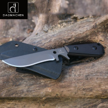 цена на DAOMACHEN Carbon Steel Outdoor Tactical Knife fixed Survival Camping Tools Hunting Knives Handmade Full Tang