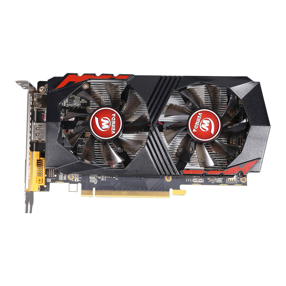Image 2 - Video Card  GTX1050Ti  for Computer Graphic Card PCI E GTX1050Ti  GPU 4GB  128Bit  1291/7000MHZ  DDR5 for nVIDIA Geforce Game-in Graphics Cards from Computer & Office