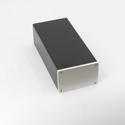 BZ1409A All aluminum Amplifier Chassis HiFi Mini Enclosure Preamplifier Housing / Power Case Box 145MM*90MM*311