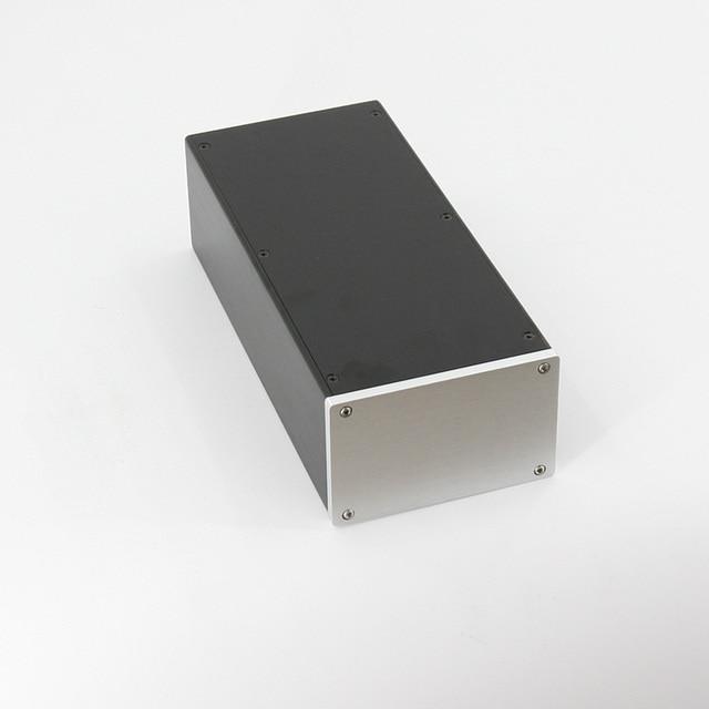 BZ1409A All aluminum Amplifier Chassis HiFi Mini Enclosure Preamplifier Housing / Power Case Box 145MM*90MM*311