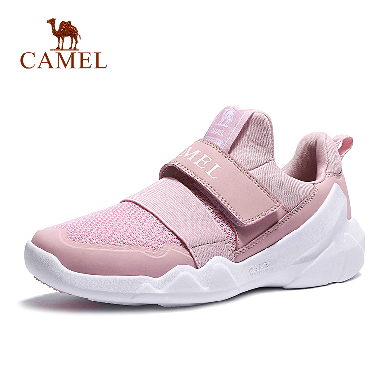CAMEL Sports Running Shoes Women Jogging Platform Chunky Fitness Gym Fashion Outdoor Height-Increasing Lightweight Breathable