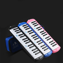 Swan 32 Keys Teaching Performance Melodica Mouth Organ in Plastic Box Professional Musical Instruments Swan Melodicas Woodwind