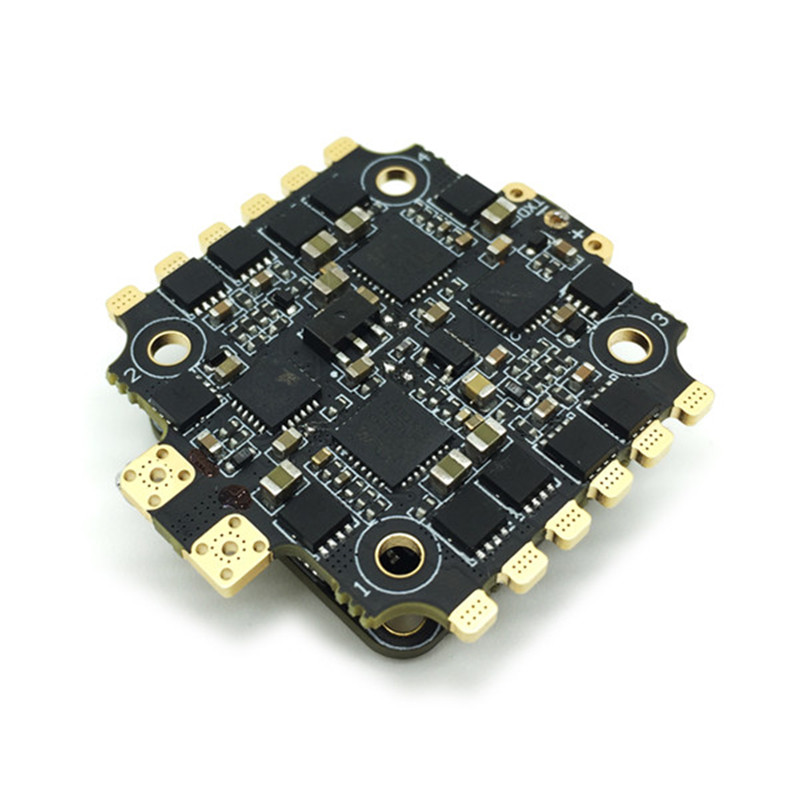 20x20mm HGLRC 40A BLheli_32 3-5S 32Bit 4 In 1 Brushless ESC DShot1200 for RC Drone FPV Racing Multicopter Models Spare Parts new 2 4g 8ch receiver ppm sbus output for frsky x9d plus xjt djt dft dht for rc multicopter fpv racing camera drone spare parts