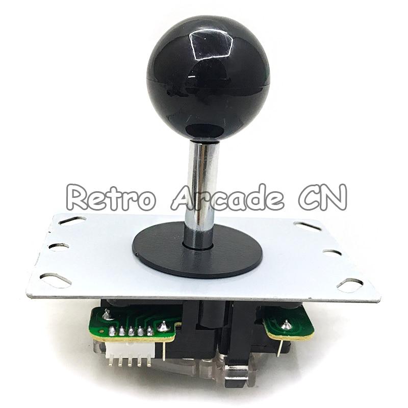 100pcs lot Arcade 5 pin joystick DIY Rocker with top Ball 4 8 Way Joystick Fighting