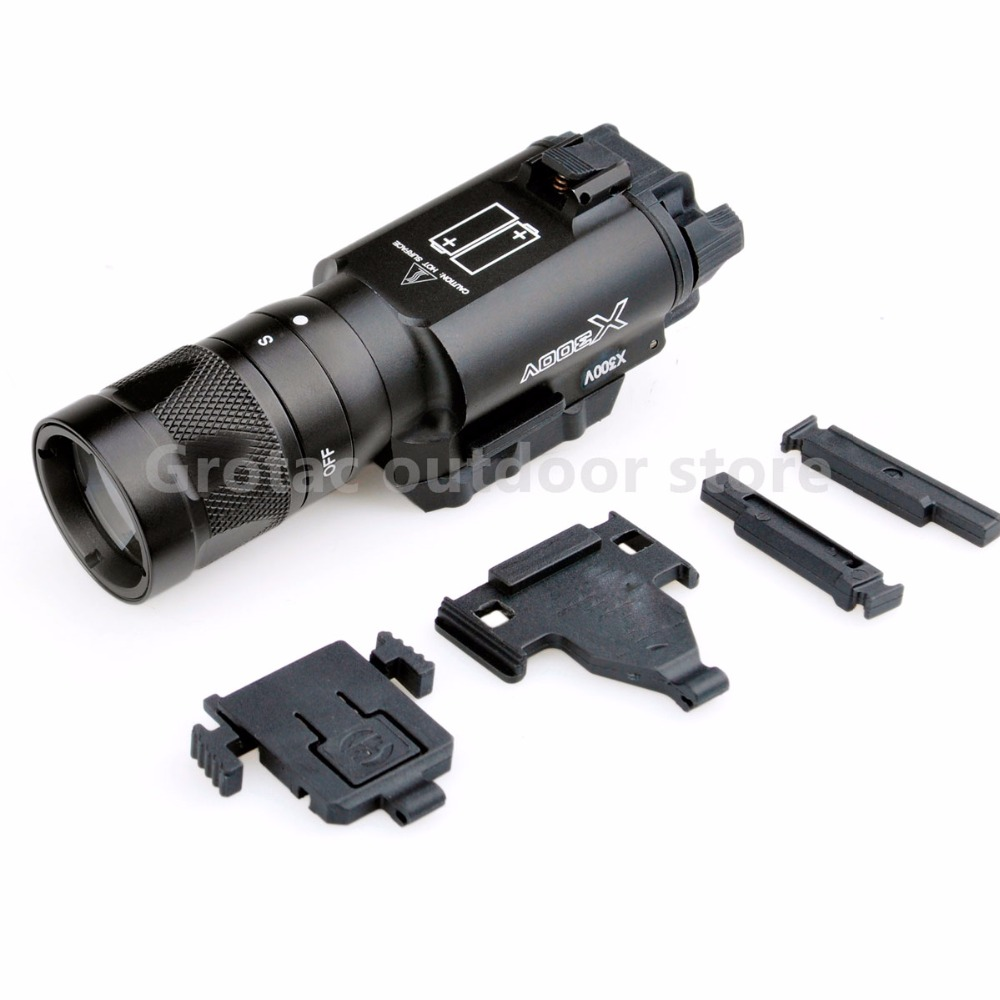 Airsoft Element SF X300V Vampire LED Tactical light Strobe version Weapon Light For Rifle Scope american vampire vol 02