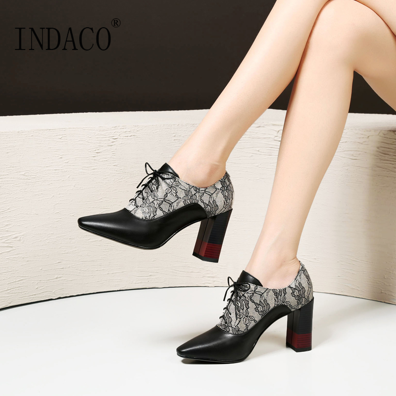 Autumn Leather Ankle Boots Printed Flowers High Heel Shoes 8cm Women Dress Shoes Botas Mujer недорго, оригинальная цена