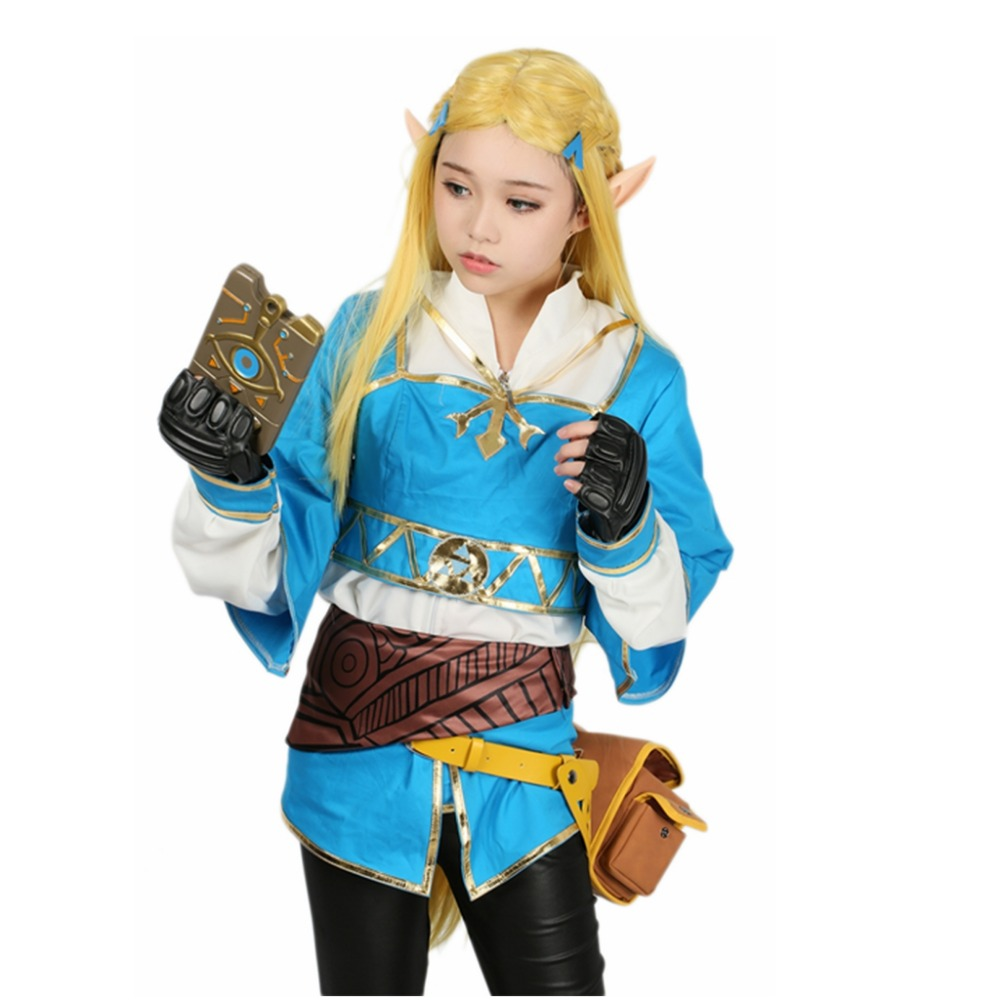 Coslive The Legend Of Zelda Breath Of The Wild Princess
