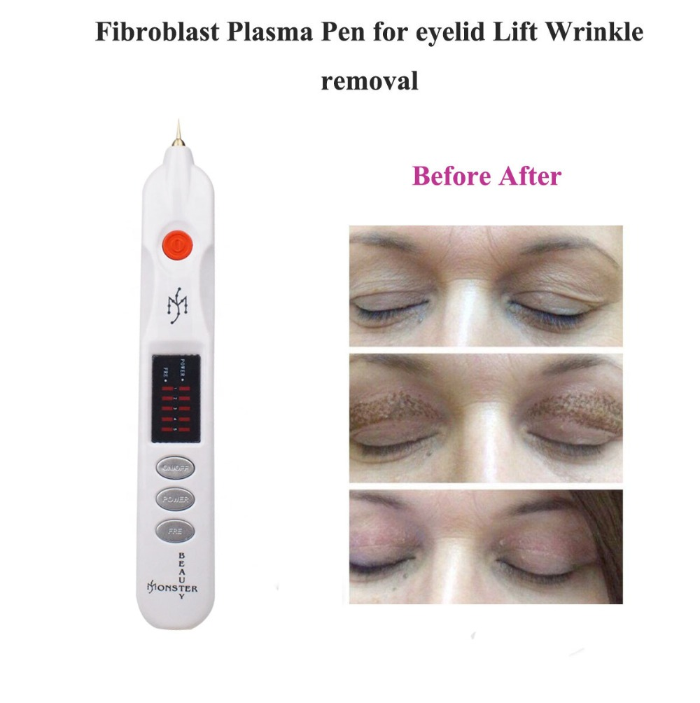 2019 newest Fibroblast Plasma Pen for face eyelid lift, Wrinkle Removal, spot removal, plasmapen with high power-in Tattoo Needles from Beauty & Health