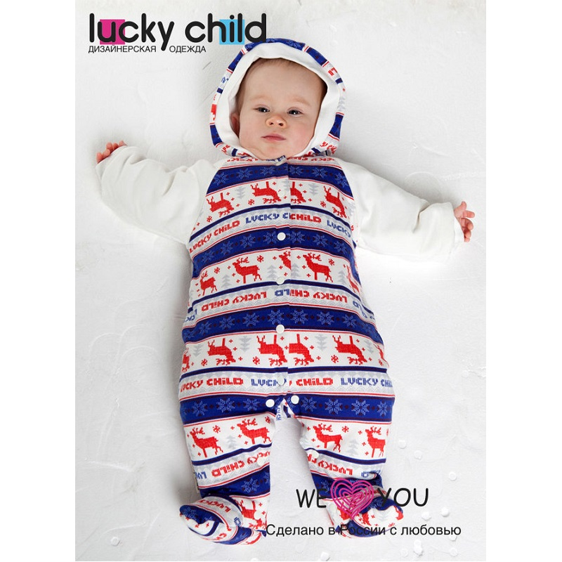 Jumpsuit Lucky Child for girls and boys 10-70 Children's clothes kids clothes Rompers for baby 50cm reborn dolls boys silicone reborn baby dolls toys for girls gift novelty lifelike baby newborn doll include clothes and hat