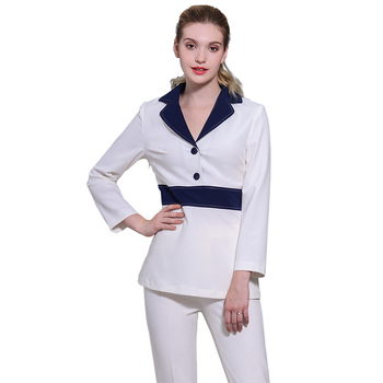 Medical Beauty Technician Services Clothing Beauty Salon Professional Spa uniforms Set Beauticians Tattoos Overalls Top+Pants