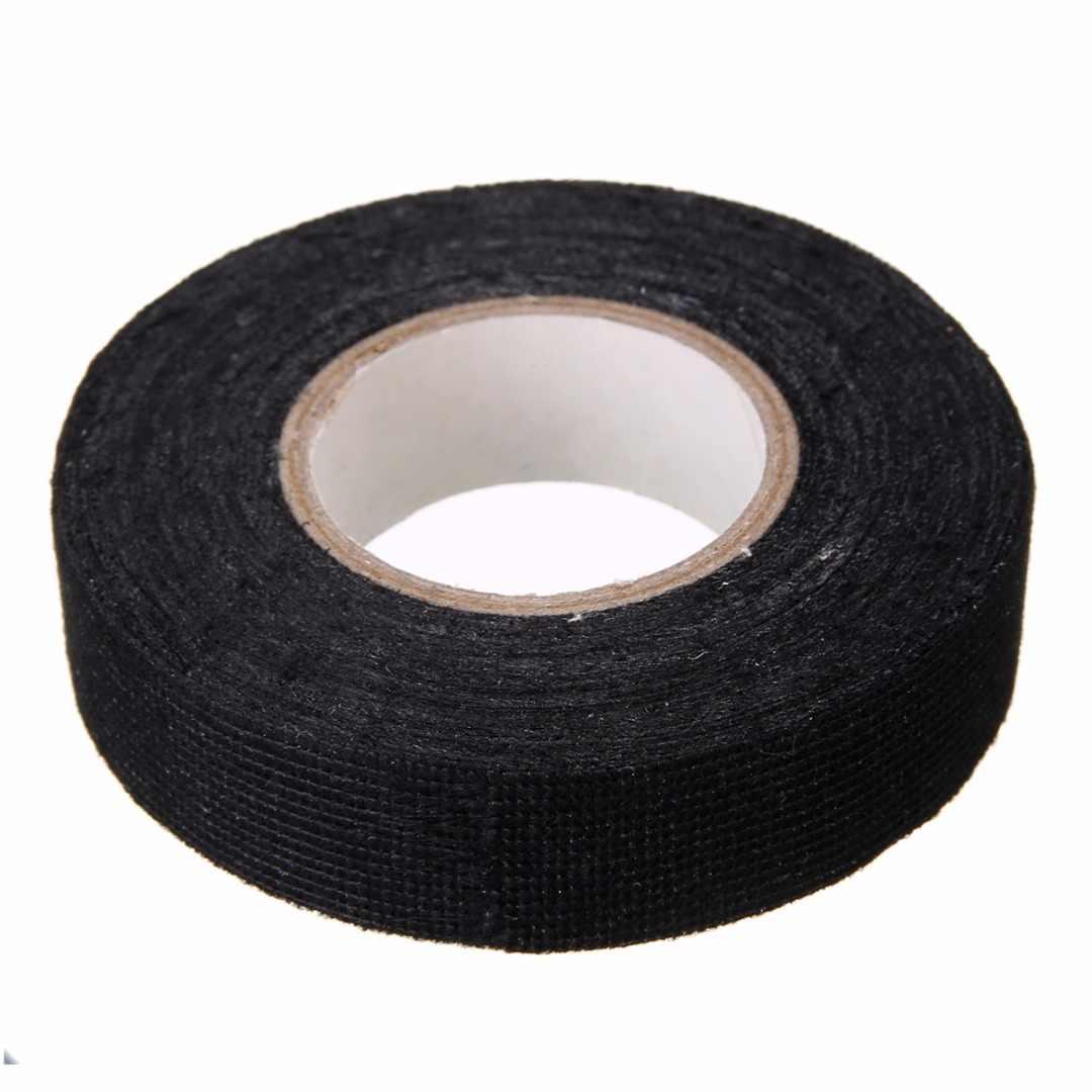 1 шт. термостойкая жгут проводов лента ткацкие жгуты проводки матерчатая тканевая лента клейкая защита кабеля 19 мм x 15 м
