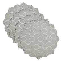 Ламонт Главная Lotus Обеденный Столешницы Столовых-Серый/Белый