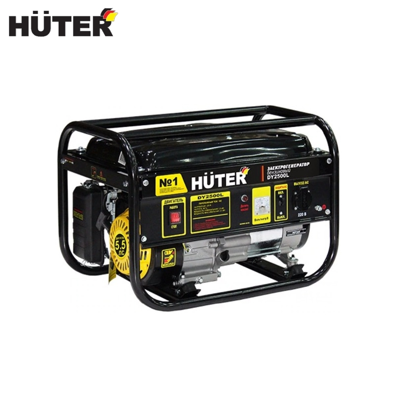 Electric generator HUTER DY2500L Power home appliances Backup source during power outages Benzine power stations generator huter ht950a