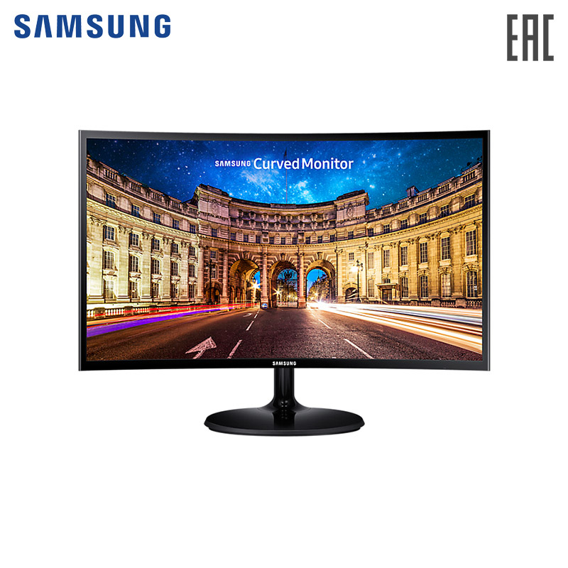 Фото - Monitor Samsung 27 C27F390FHI Black computer display sunding sd 563b 27 functions bike computer