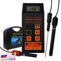 Цифровой pH/ORP мВ/измеритель температуры тестер качества воды с ATC сменным рН ОРП электродом съемным температурным зондом