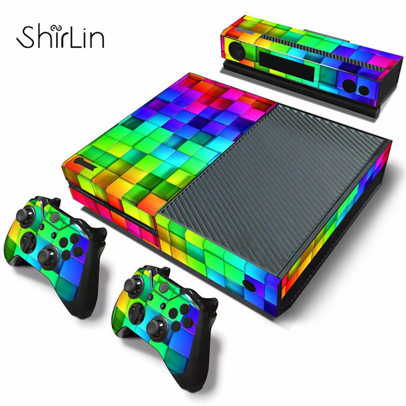 Vinyl Game Controller Skin Sticker Cover For PS4 for Playstation 4 Console+2 Controller Decal Game Accessories for Xbox One