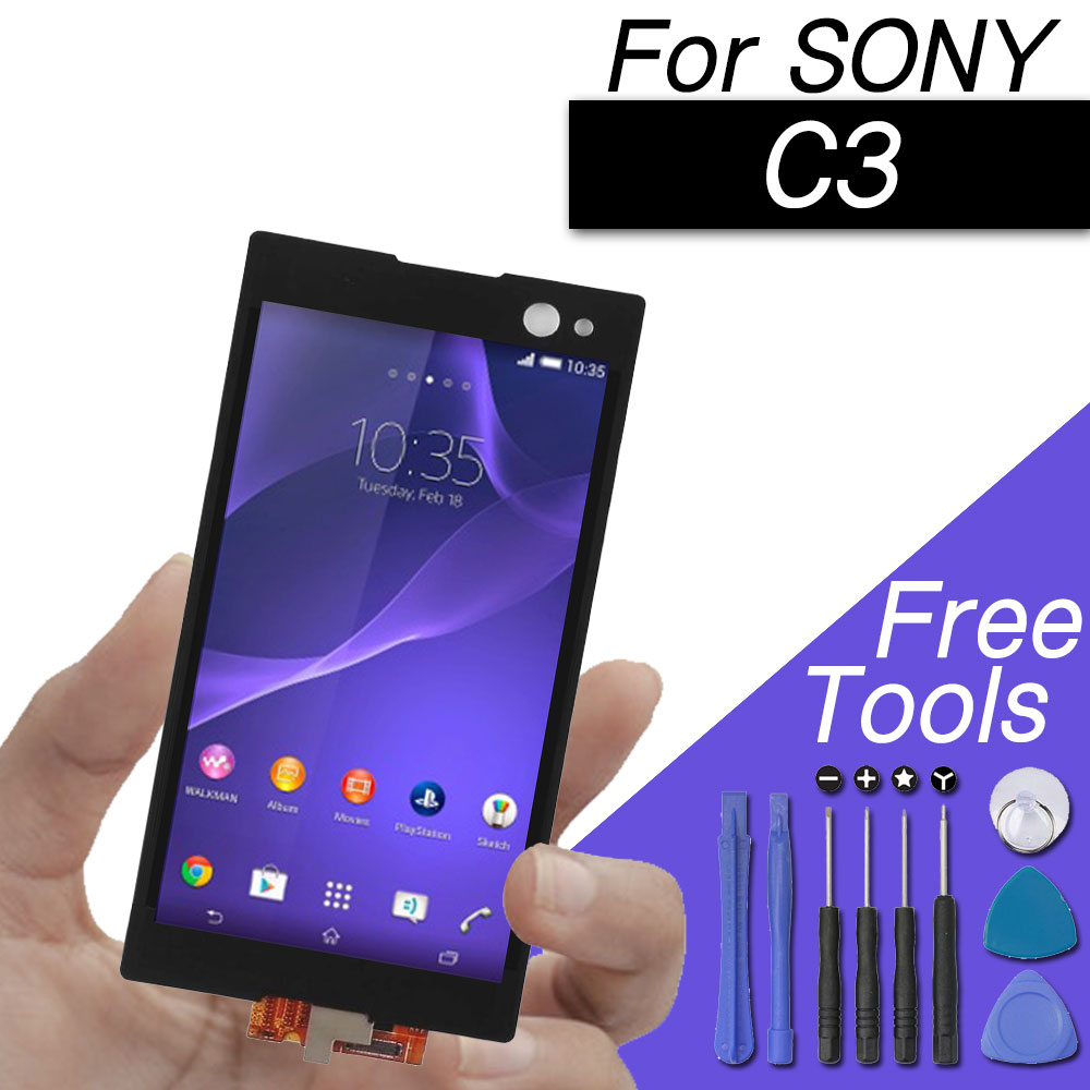 Replacements LCD screen for Sony Xperia C3 display screen for Sony Xperia C3 Dual D2502 D2533 S55U S55TReplacements LCD screen for Sony Xperia C3 display screen for Sony Xperia C3 Dual D2502 D2533 S55U S55T