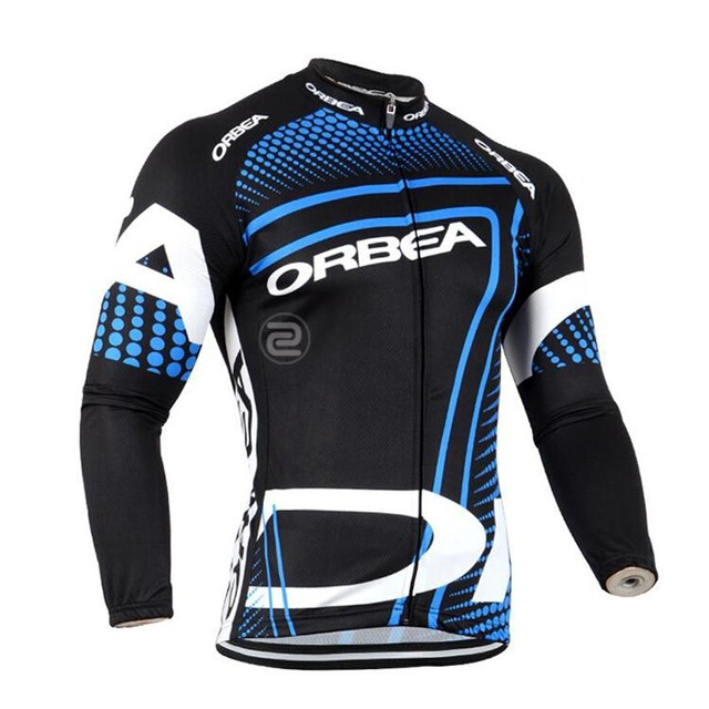 Новая команда Orbea Джерси 2018 с длинным рукавом Дорожный велосипед Рубашки для мальчик ...