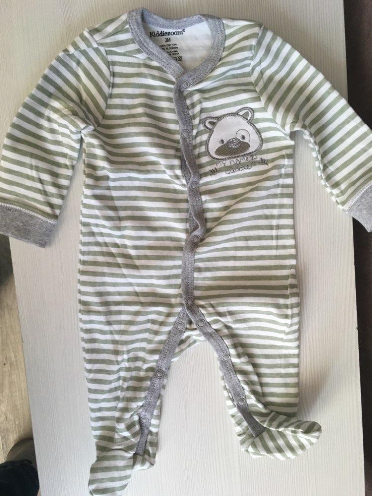 Baby's V-Neck Cotton Jumpsuit photo review