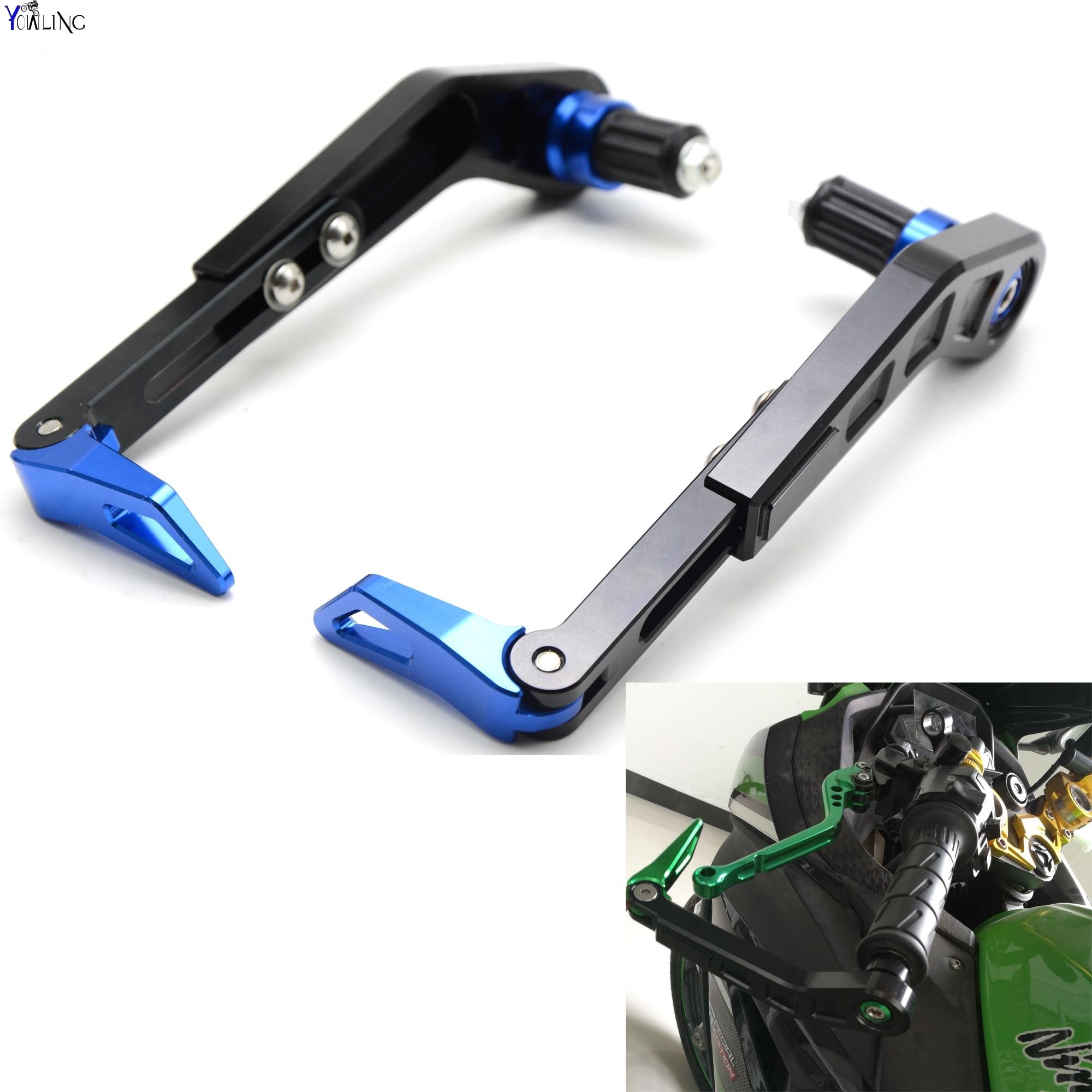 Universal 7/822mm Motorcycle Handlebar Brake Clutch Lever Protect Guard for SUZUKI GSX750 GSX1000 GSX1250 GSX1400 GSX650F GSXR