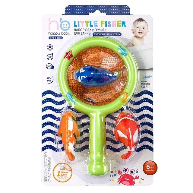 """Набор игрушек из ПВХ """"LITTLE FISHER"""" Happy Baby 32008"""