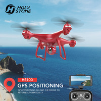USA Germany Stock Holy Stone GPS FPV Selfie Drone HS100R 1080P Wi Fi Camera 400m Flight Smart GPS Return Follow Me NO TAX TO EU