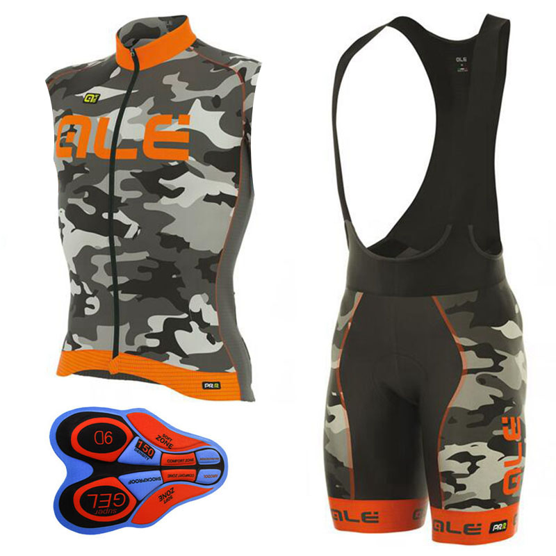 2017 Outdoor Sport Pro Ale Ropa Ciclismo Maillot Team Cycling <font><b>Jersey</b></font> Set Bike Clothing Cycle Clothes Sets MTB Bicycle XS TO 5XL