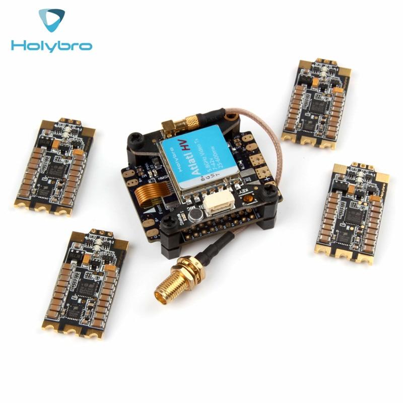 все цены на Free Shipping Holybro Kakute F4 AIO V2 Flight Controller OSD + Atlatl HV 5.8G 40CH Raceband FPV VTX + Tekko32 35A BLHeli_32 ESC