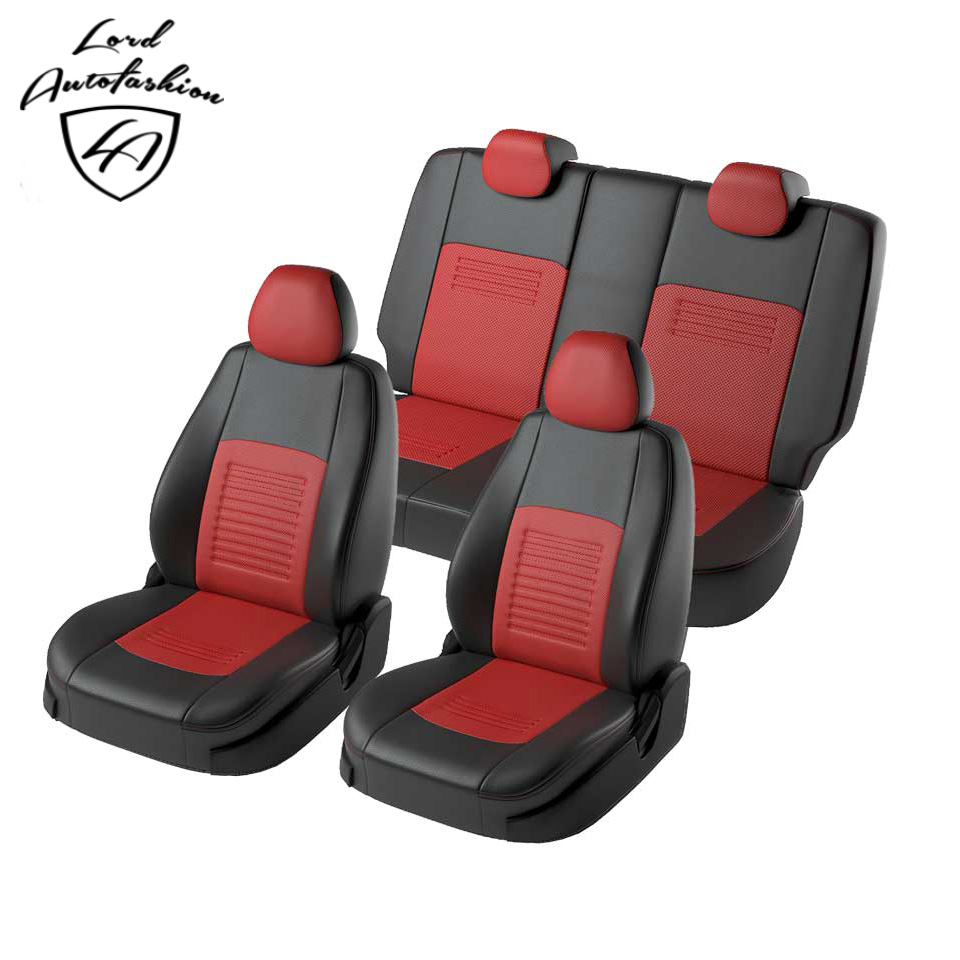 For Hyundai Solaris Hatchback special seat covers full set (Model Turin, eco-leather) набор салатников olaff с крышками 5 шт ax 5sb g 01