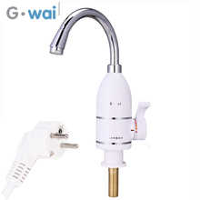 GWAI Water Heater Hot Sale 3~5 Second Instant Faucet 220~240V Stainless Heating Tube Valve DRS-X30F1