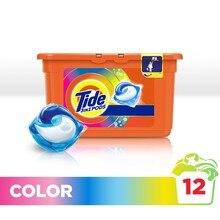 Гель в растворимых капсулах Tide color 12 шт.