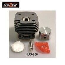 Цилиндр с поршнем HUS-268 Rezer для бензопилы