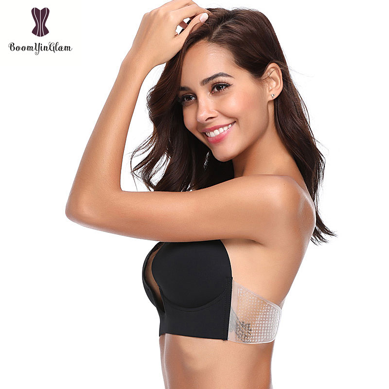 c57f1aa6eac72 Invisible Silicone Bra Self-Adhesive One Piece Bras Women Summer ...