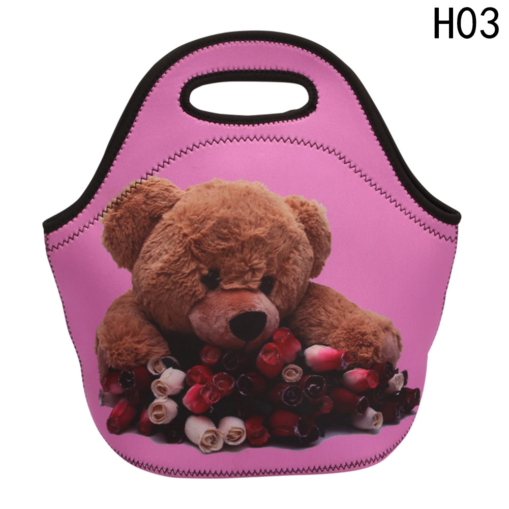 Fashion Insulated Lunch Box Women Kids Baby Casual Bags Box Tote Waterproof Food Container Portable Lunch Bag