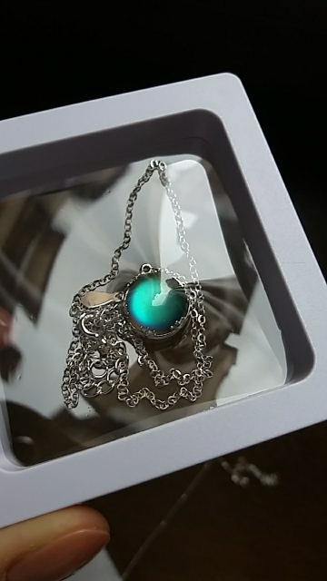Aurora Borealis Necklace photo review