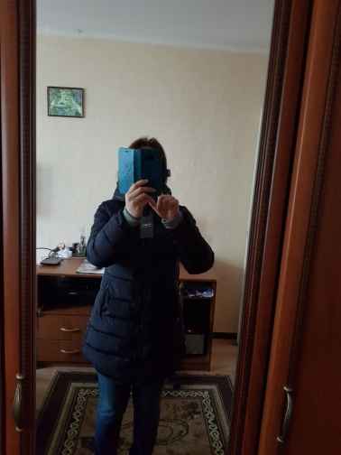 Women's Winter Hooded Coat photo review