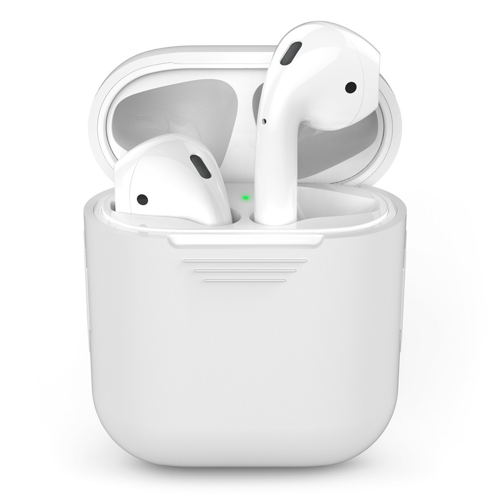 1PCS TPU Silicone Bluetooth Wireless Earphone Case For AirPods Protective Cover Skin Accessories for Apple Airpods Charging Box (8)