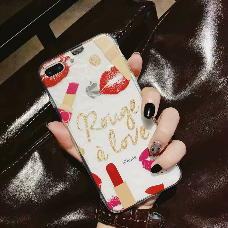 FREE Sexy Girls Lips Phone Case iPhone X 8 7 6 6S Plus