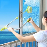 Magnetic Window Glass Cleaning Brush New Wiper Surface Brush Cleaning Tools Sponge Home Window Glass Cleaner